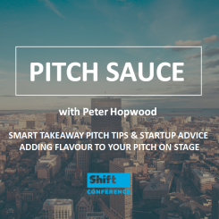 STARTUP PITCH TRAINING SAUCE