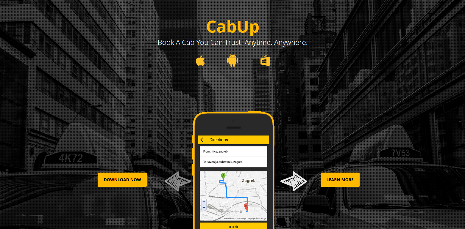 cabup web copywriting app